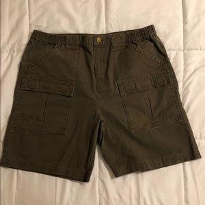 Cabela's Shorts - Dark Brown Cabela's Cargo Shorts